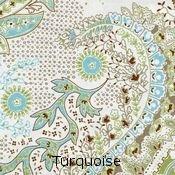 Errebicasa Sorrento Turquoise Pattern