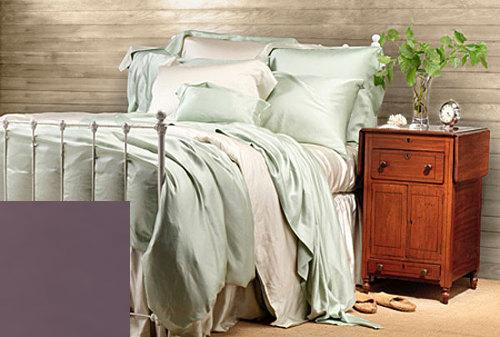 New Color Aubergine – SDH Legna Classic Solid Bedding