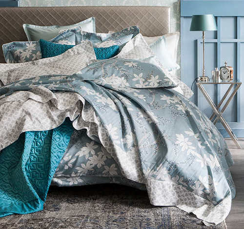 Alexandre Turpault Ambroisie Cotton Sateen Duvet & Shams