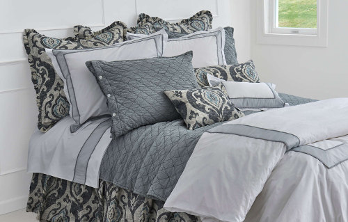 Suri Slate by Traditions Linens for exceptional styling.