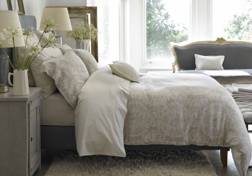 Christy of England Salisbury cotton/linen jacquard woven bedding