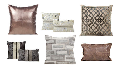 Our cowhide pillows from Fibre by Auskin are stylish and bring a uniqueness and texture to your home decor.
