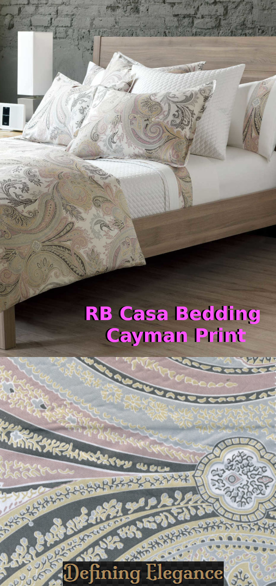 RB Casa Cayman - Sateen Bedding