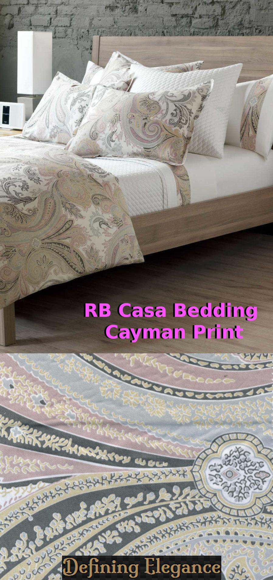 RB Casa Cayman - Sateen Bedding