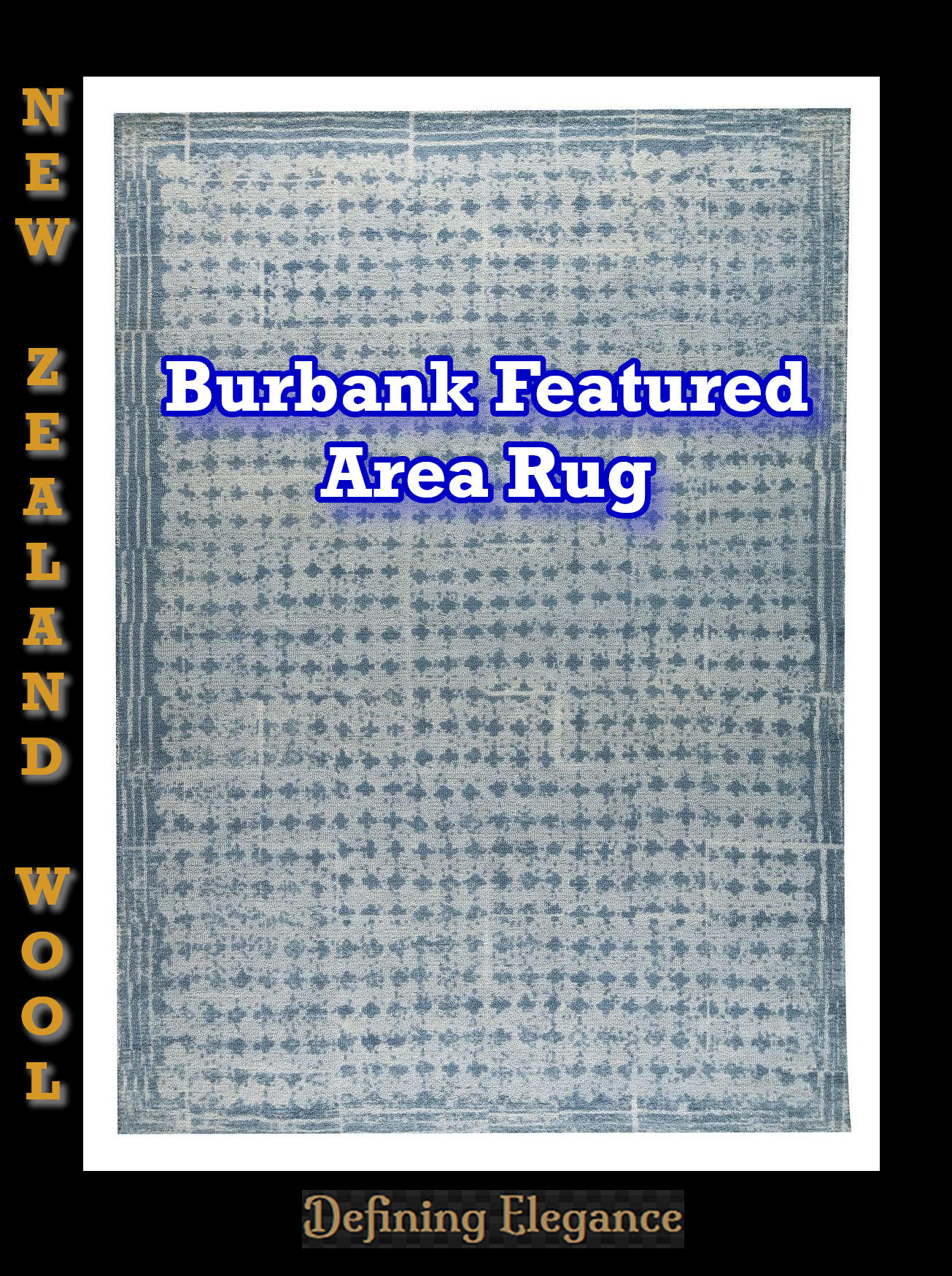 Burbank Area Rug by MAT Orange - MA Trading