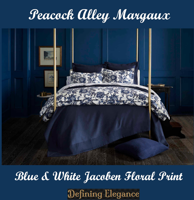 Margaux Duvet and Shams by Peacock Alley