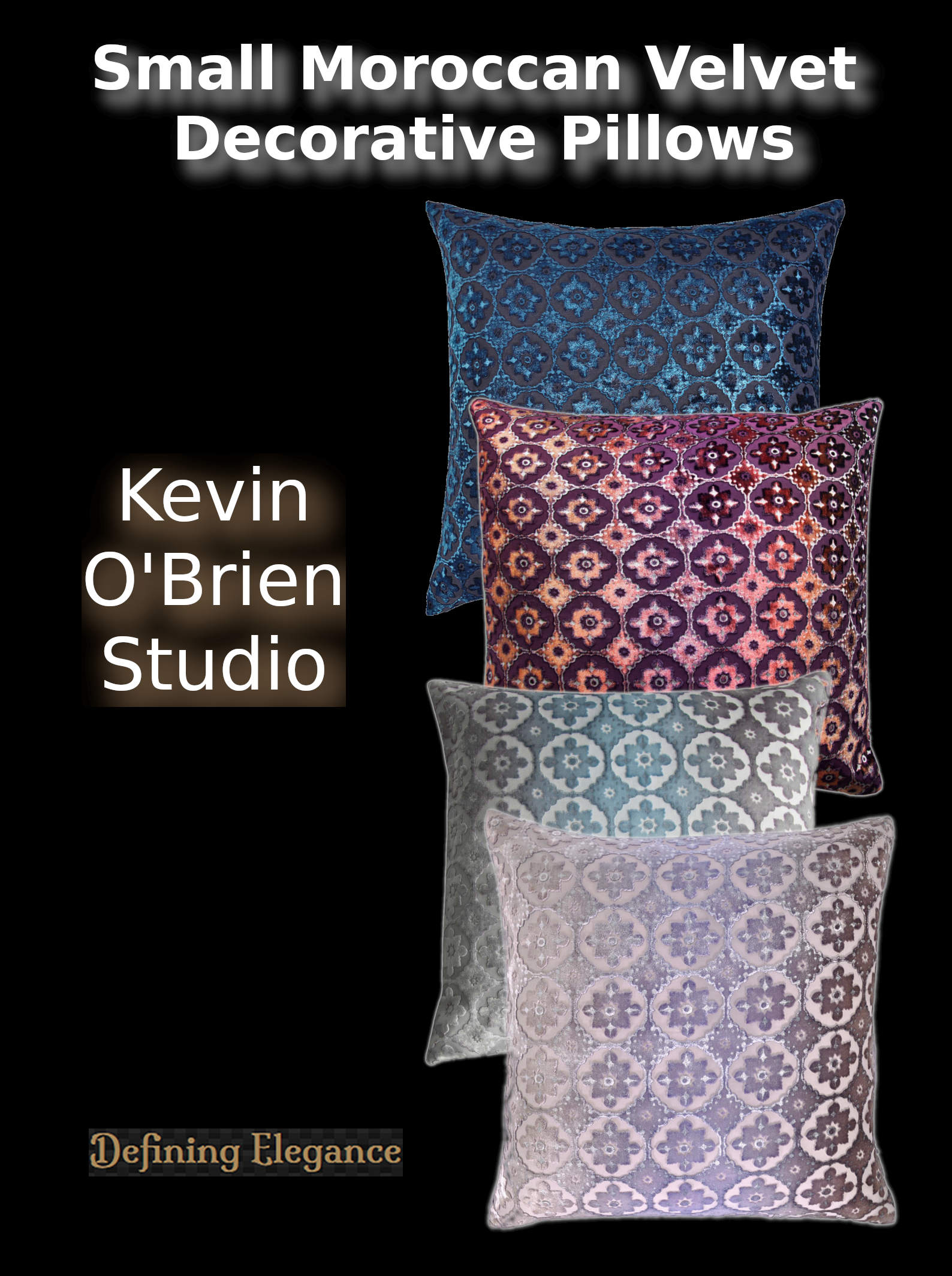 Kevin O'Brien Small Moroccan Decorative Pillows