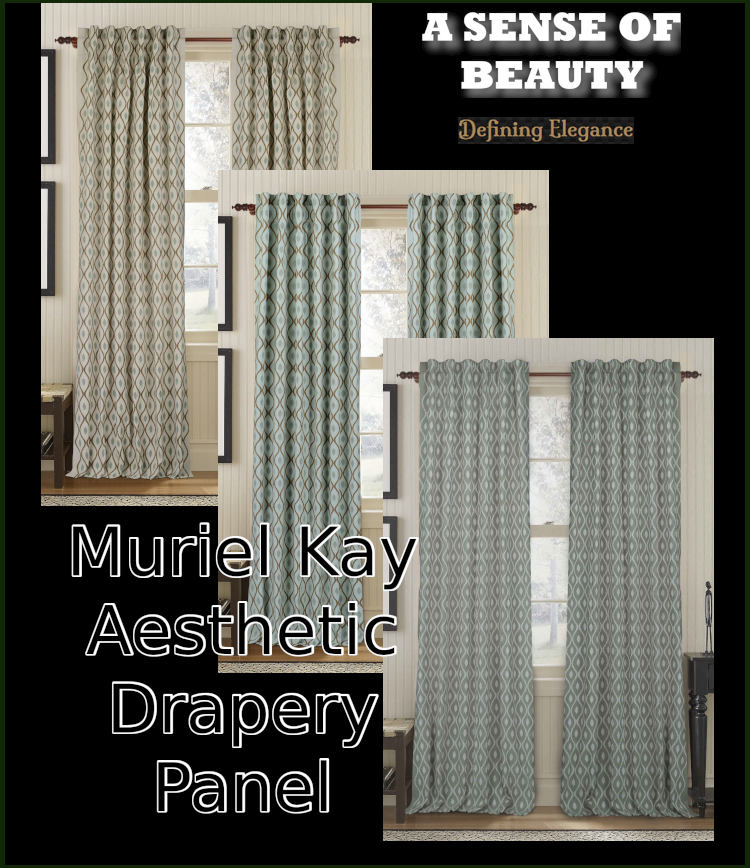 Muriel Kay Aesthetic - Linen/Cotton Drapery Panel
