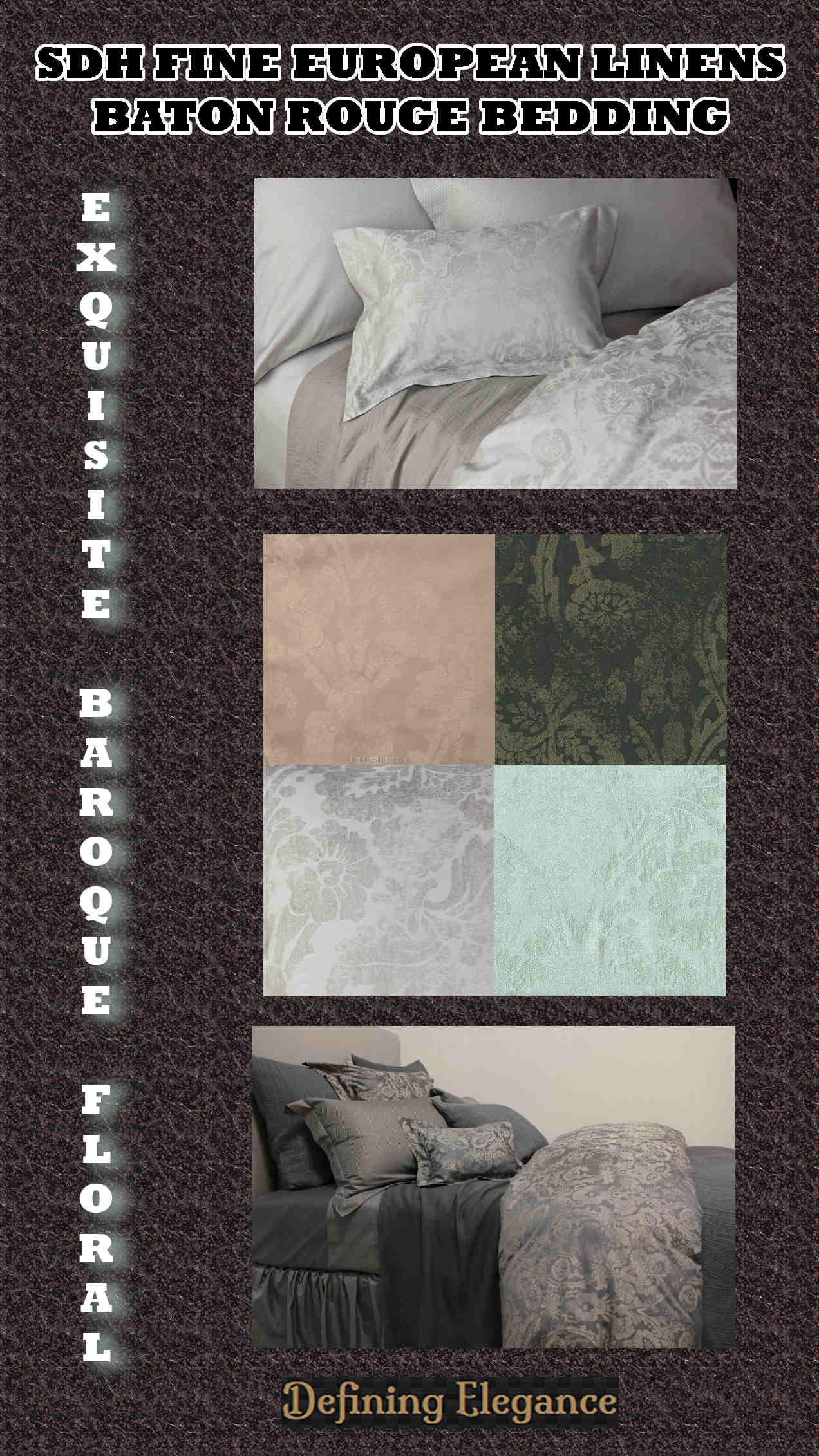 SDH Fine Linens Baton Rouge Bedding