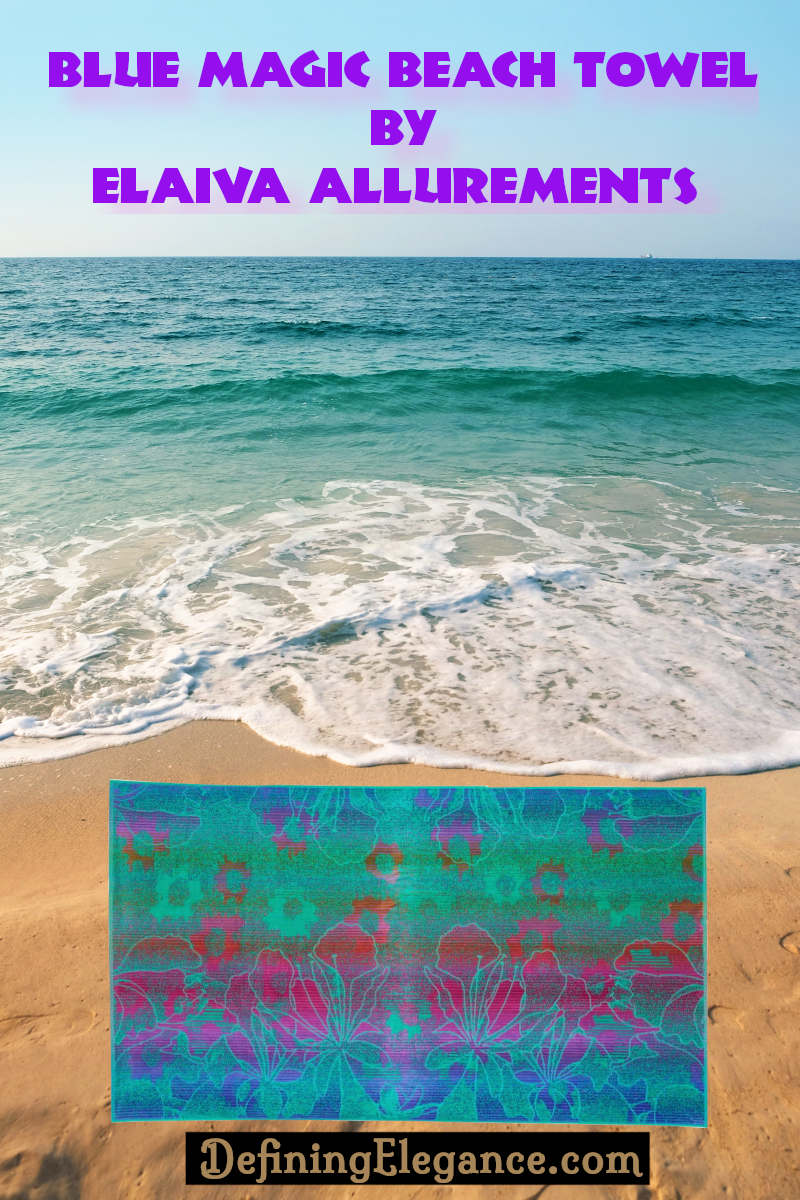 Blue Magic Beach Towel by Elaiva Alurements