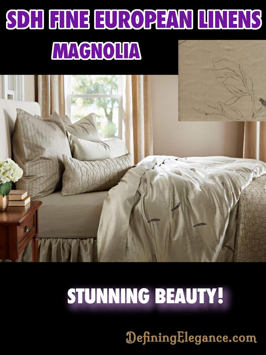 SDH Magnolia Bedding