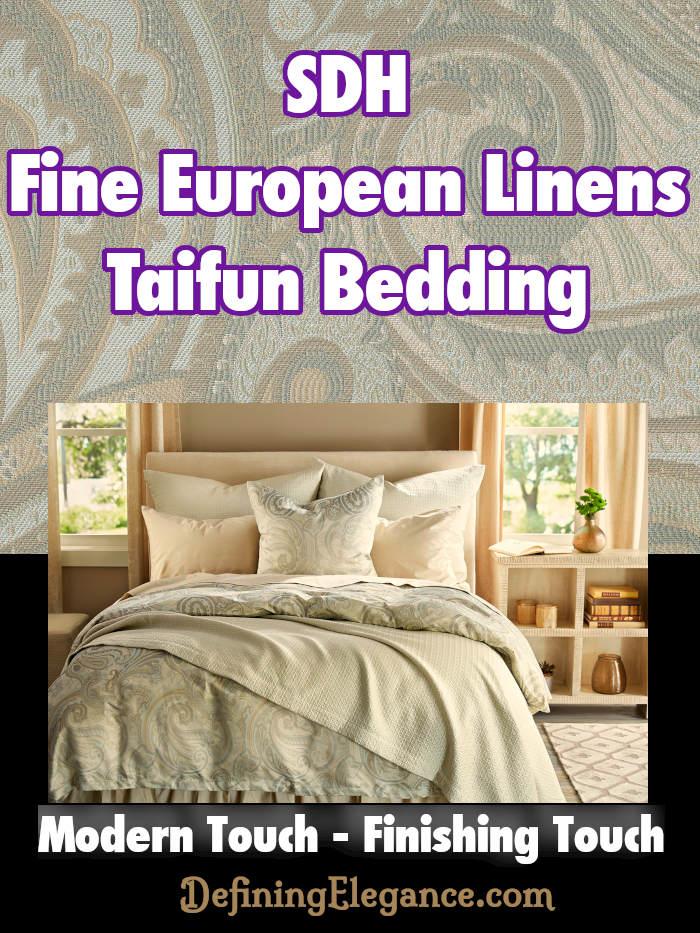 SDH Fine European Linens Taifun Bedding