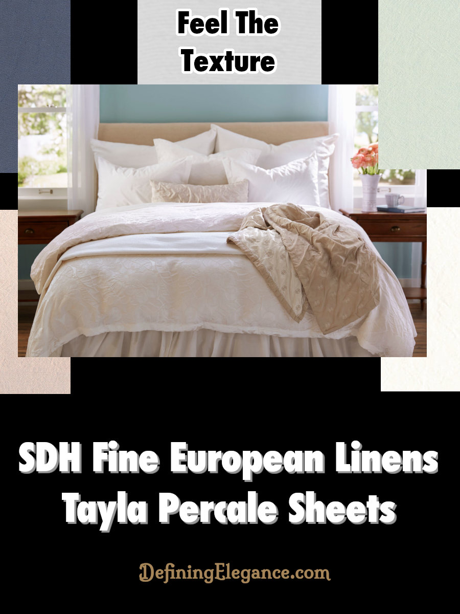 SDH Tayla Percale Sheets