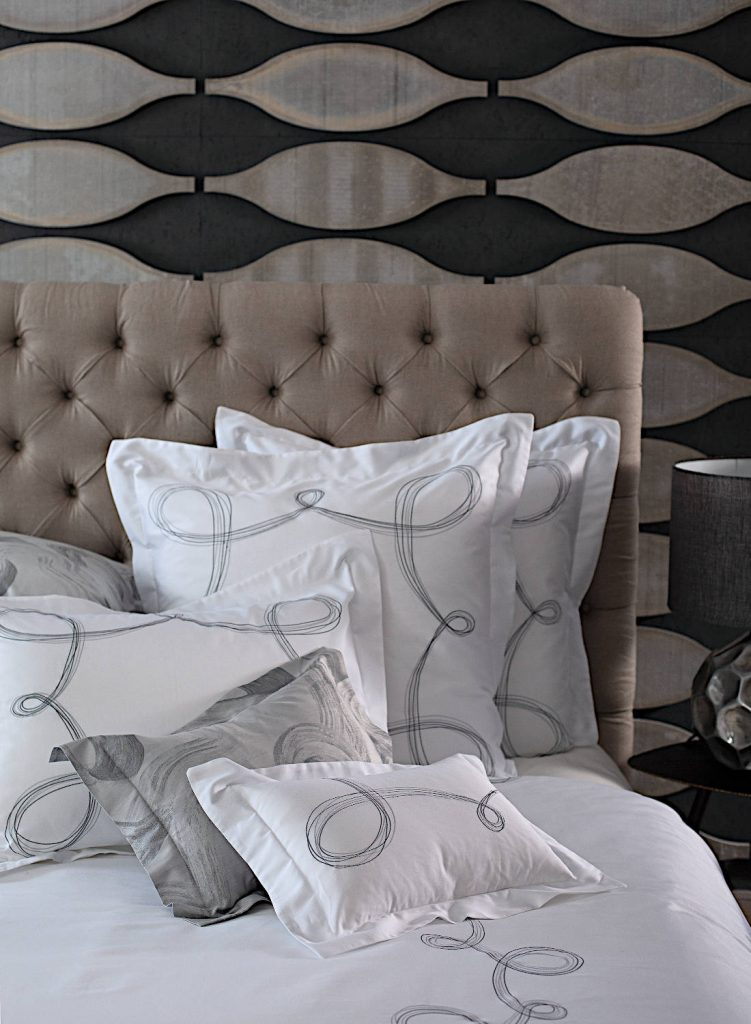 Mistral Embroidered Bedding by SVAD DONDI