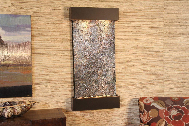 Adagio Wh-pering Creek Wall Fountain - Natural Slate