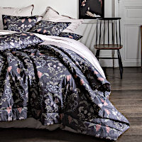 Alexandre Turpault Boheme Printed Sateen Bedding