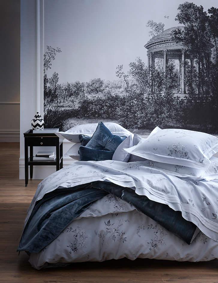 Uuu Alexandre Turpault Hellebore Sateen Cotton Duvet And Shams