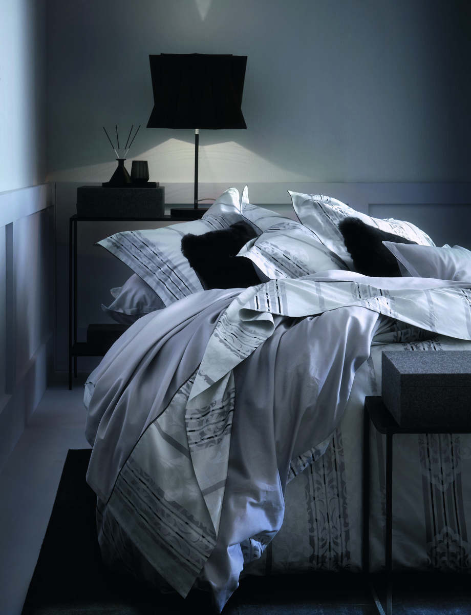 alexandre turpault marly jacquard bedding. Black Bedroom Furniture Sets. Home Design Ideas