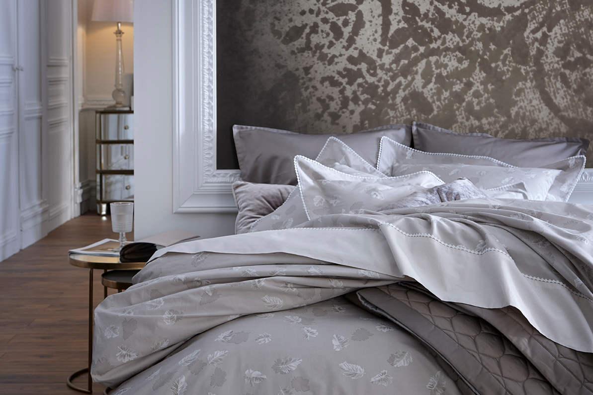 alexandre turpault seraphine percale cotton duvet shams. Black Bedroom Furniture Sets. Home Design Ideas
