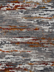 Amer Rugs ABS-3 Abstract - Orange