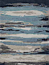 Amer Rugs ABS-4 Abstract - Blue