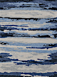 Amer Rugs ABS-7 Abstract - Navy