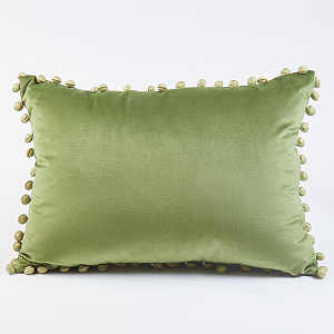 Ann Gish Ball Trim Pillow - Art of Home Collection