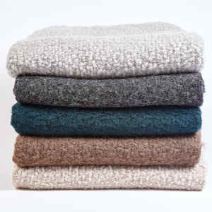 Ann Gish Boucle Throw - Art of Home Collection