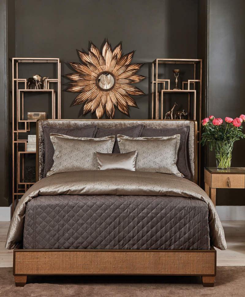 Ann Gish Bronze Baby Basket & Bronze Imprint Set - Art of Home Collection