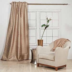 Ann Gish Art of Home Coin Curtain Panel
