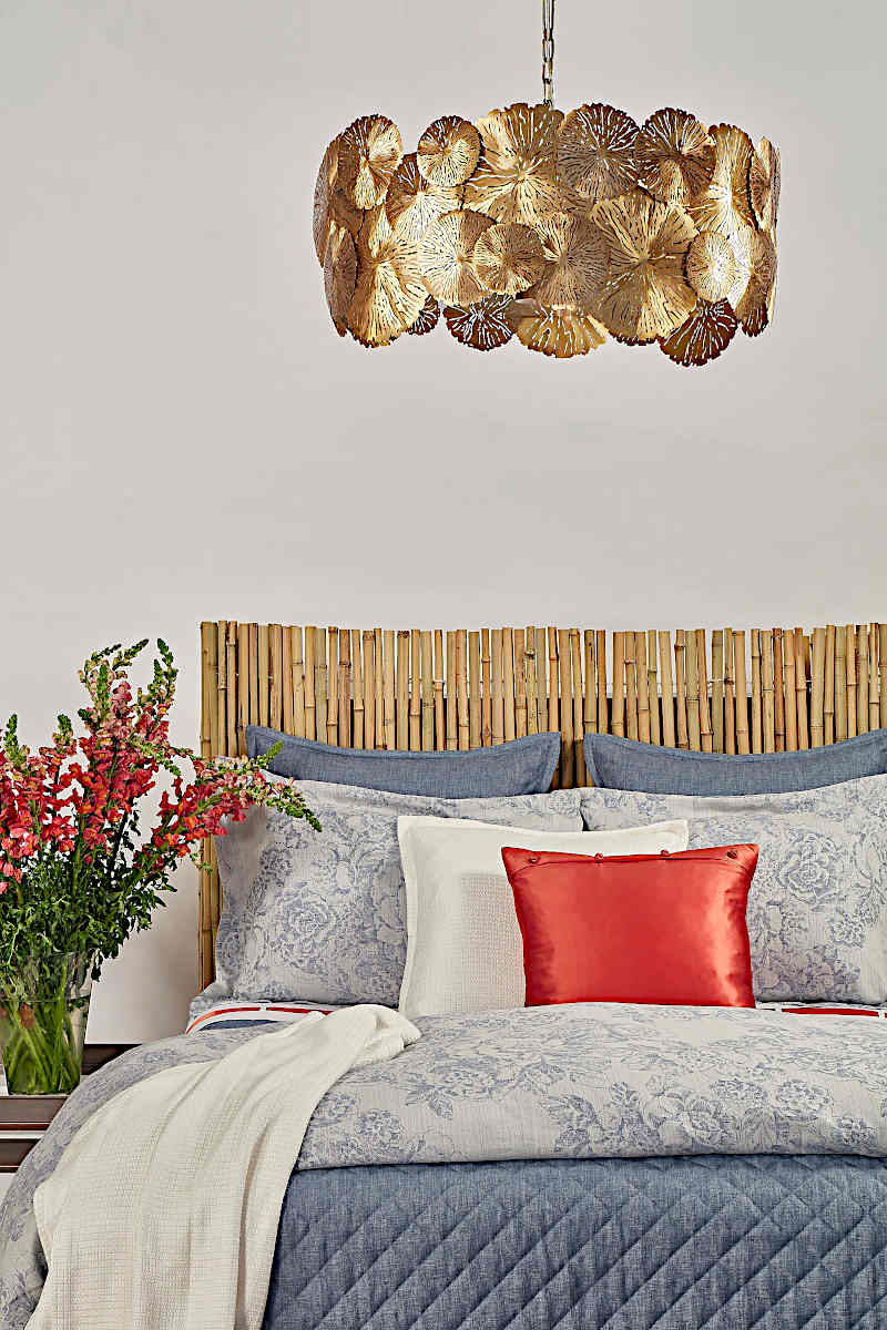 Ann Gish Faux Linen + Roses Set - Art of Home Collection