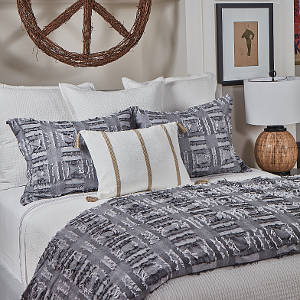 Ann Gish Pebble Coverlet Set - Art of Home Collection