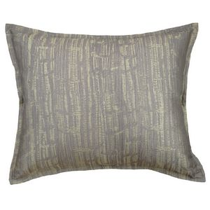 Ann Gish Birch Pillow in Charcoal color.
