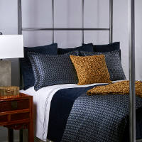Ann Gish Foulard & Velvet Bedding Set - Art of Home