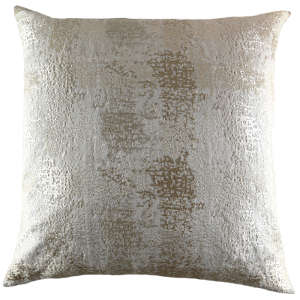 Ann Gish Markham Pillow in Light Taupe