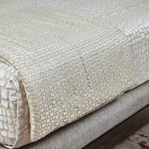Ann Gish Metallic Mosaic Throw