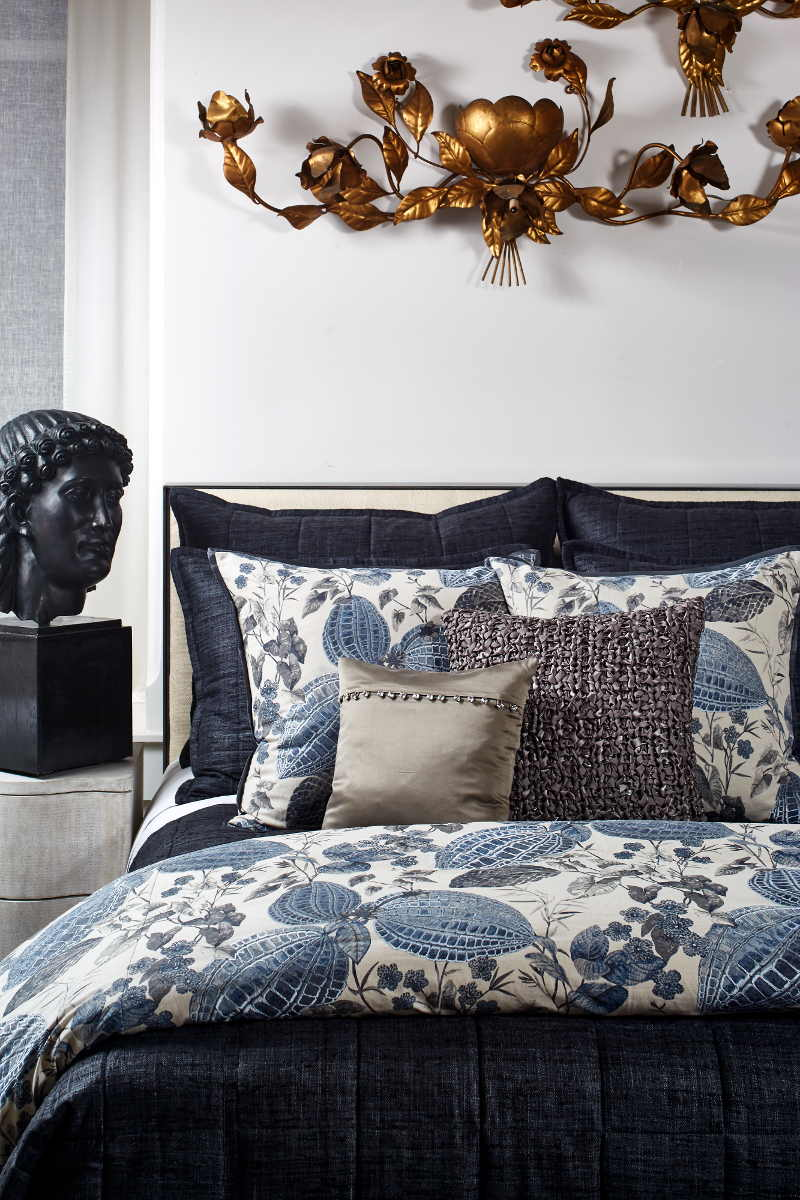 Ann Gish Nature & Silk Bedding Collection
