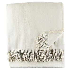 Ann Gish Silk Fleece Throw