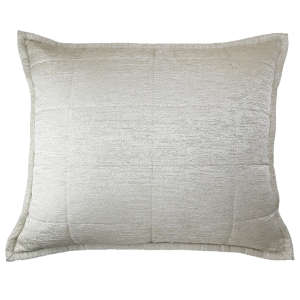 Ann Gish Stria Quilted Pillow