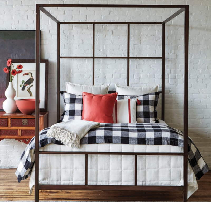 Ann Gish Texture & Plaid Bedding Set - Art of Home