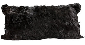 Fibre by Auskin Alpaca Decorative Pillow - Black