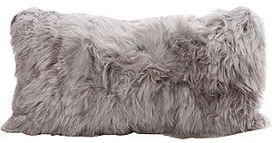 Fibre by Auskin Alpaca Decorative Pillow - Cool Grey