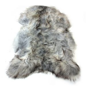 Fibre by Auskin Natural Undyed Gray Artic Sheepskin Pelt