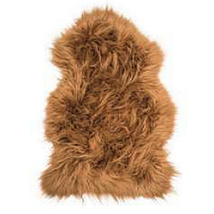 Fibre by Auskin Camel Artic Sheepskin Pelt