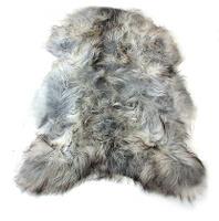 Fibre by Auskin Gray Artic Sheepskin Pelt.