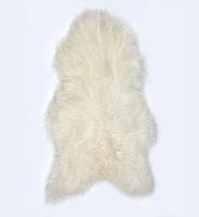 Fibre by Auskin White Artic Sheepskin Pelt.