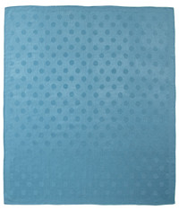 Baby Alpaca Dots Throw by Fibre by Auskin - Teal