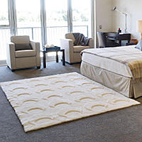 Auskin Basic Collection Throw Rugs