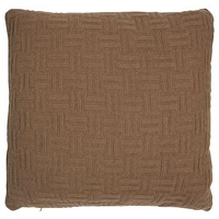 Beautiful 100% Camel Hair creates an unique feel and look for decorative pillows.
