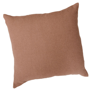 Fibre by Auskin Basketweave Camel Hair Cushion Camel